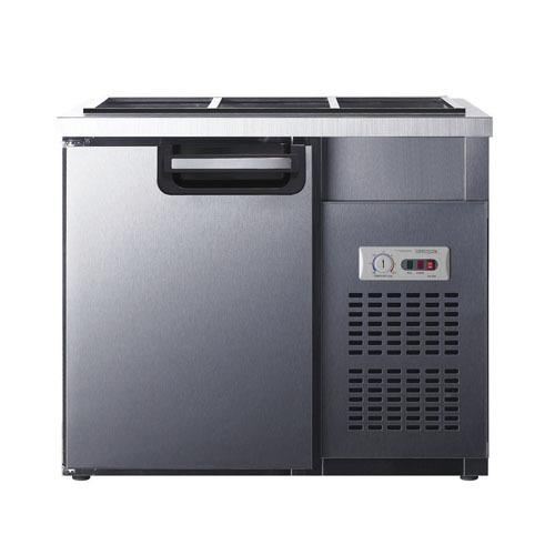 유니크 반찬냉장고 900x500 아날로그 UDS-9RBAR-1밧드별도