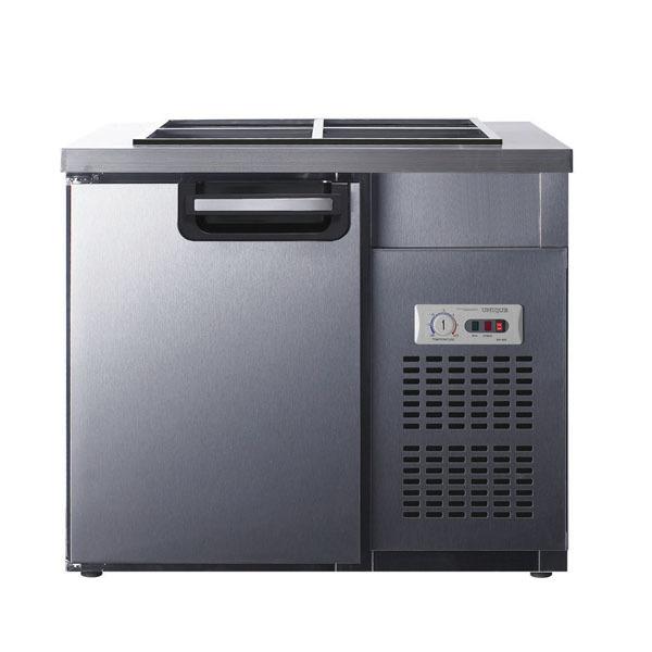 유니크 반찬냉장고 900x700 아날로그 UDS-9RTAR 밧드별도