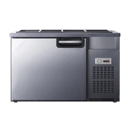 유니크 반찬냉장고 1200x500 아날로그 UDS-12RBAR-1밧드별도