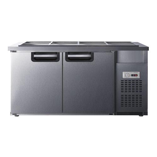 유니크 반찬냉장고1500x700 아날로그 UDS-15RBAR 밧드별도